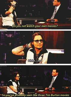 Johnny Depp #funny