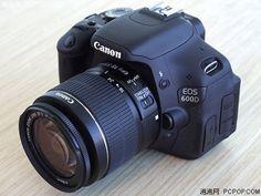 The Canon EOS 600D DSLR