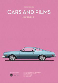 Site cria cartazes dos carros famosos do Cinema http://cinemabh.com/imagens/site-cria-cartazes-dos-carros-famosos-do-cinema