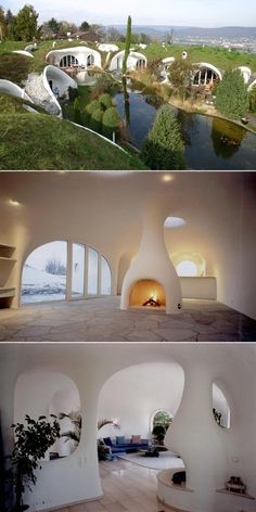 houses are reminiscent of real hobbit holes more in . earth houses are reminiscent of real hobbit holes more in . houses are reminiscent of real hobbit holes more in . earth houses are reminiscent of real hobbit holes more in . Organic Architecture, Architecture Design, Residential Architecture, Contemporary Architecture, Earth Sheltered Homes, Earth Bag Homes, Earthship Home, Earthship Design, Adobe House