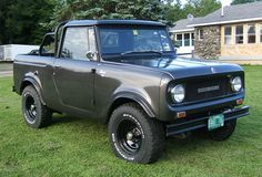 International Scout.  Got my vote for the most fun car you can buy for 5k!