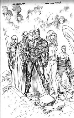 All New X-Men by Stuart Immonen *