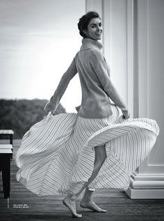 Hilary Rhoda by Boo George for Vogue Australia January 2014