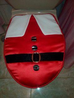 Juego de baño navideño Bathroom Crafts, Bathroom Sets, Christmas Crafts, Christmas Decorations, Xmas, Ideas Para, Diy And Crafts, Projects To Try, Halloween