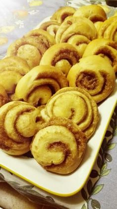 Cinnamon rolls.. I'm smelling Christmas fragrance here