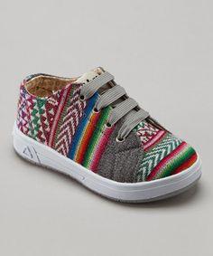 Inkkas Slate Kids Stripe Sneaker by Inkkas