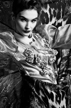 """A Whiff of Spring"": Beata Grabowska by Artur Cieslakowski"