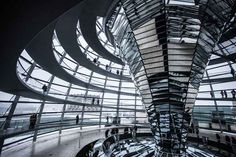 Dome of the Reichstag building, Berlin. * Top 20 free things to do in Berlin - Lonely Planet Berlin Travel, Germany Travel, Cities In Europe, Free Things To Do, Cheap Things, Fun Things, Europe Travel Tips, Travelling Europe, Traveling