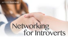 You know you've got to start reaching out to other people, but the idea of networking seems like a big, black hole you'd rather not climb into. Business Networking, Doterra Essential Oils, Introvert, Other People, Essentials, Productivity, Building, Entrepreneurship, Buildings