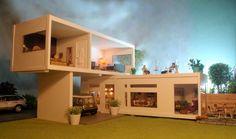 Modern dollshouse