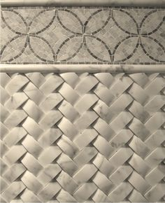 Just LOVE this tile! Saw it in an all white kitchen of a home, as a backsplash &… – farmhouse fireplace tile Patterned Tile Backsplash, Fireplace Tile, Basket Weave Tile, Bedroom Fireplace, Backsplash, Dimensional Tile, Kitchen Tiles Backsplash, Urban Cottage, Backsplash Patterns