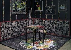 Visitors create coloured etchings in installation by Itay Ohaly