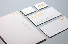 My FD | Visual identity and stationary design on Behance