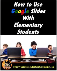 What to do With Google Slides in an Elementary Classroom. In this post, I have 5 suggestions on how to use Google Slides: vocabulary instruction, character analysis, note taking, quick assessment and interactive online notebooks. Come read about it and get the Note Taking Freebie!