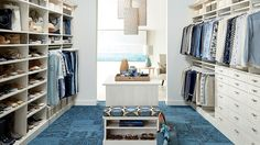 Ivory Cabinetry - Clothing Storage - Closet Ideas - Container Store - Home Organization
