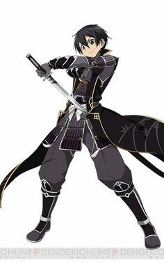 Sword Art Online - Kirito Black Samurai