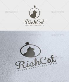 Rich Cat Logo  #GraphicRiver         File: -  PSD - Vector -  CMYK - Text can change   Fonts: Brannboll –  .dafont /brannboll.font Candara – basic     Created: 26March12 GraphicsFilesIncluded: PhotoshopPSD Layered: Yes MinimumAdobeCSVersion: CS2 Resolution: Resizable Tags: RichCatLogo #emd #todik