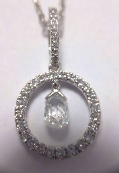 Platinum-Diamond-Infinity-Briolette-Pendant-Beautiful