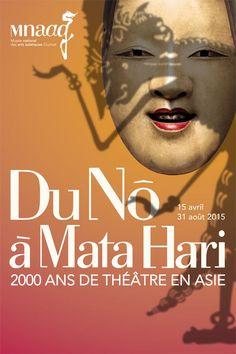 Du Nô à Mata Hari au Musée Guimet : Affiche.