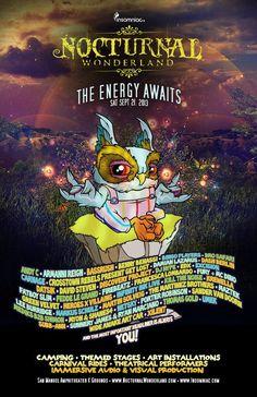 EDM News: Insomniac Announces Nocturnal Wonderland Festival Performers List