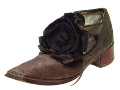 Man's shoe, 17th century, Holland.