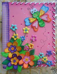 Resultado de imagen para cuaderno decorado