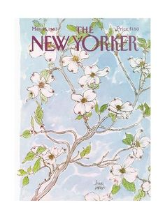 The New Yorker Cover - May 1983 Poster Print by Joseph Farris at the Condé Nast Collection The New Yorker, New Yorker Covers, Wall Prints, Poster Prints, Magazin Covers, Magazine Art, Design Magazine, Watercolor Illustration, Graphic