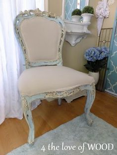 Beautiful furniture makeovers - I CAN DO THIS!