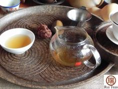 The way to drink Pu'er Tea