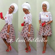 Cord Lace Blouse Style - #1 Nigeria Style Blog