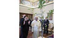 Kopacz osobiście  zapytać Bergoglio, czy ma szanse załapać się tak samo, jak była premier Suchocka na popłatną synekurę Ambasadora RP przy Stolicy św., chociaż Kopacz nie ma epizodu Biskupa Łowickiego za sobą, ale po służalczym wyrzuceniu paru żydów z rządu dała się wrobić w pomysł zachęcenia nowinkarza do zasadzenia w Ogrodach Watykańskich drzewka wiadomości złego i dobrego z żydoskimi korzeniami z Polski. http://franciscus.blox.pl/2015/06/Ambasador-Kopacz-przy-Domu-sw-Marty-zasadzila.html