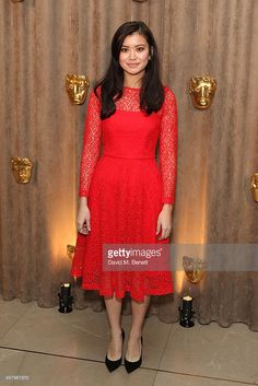 Katie Leung wears the REISS Rhomona floral lace dress Katie Leung, Harry Potter Actors, Floral Lace Dress, Attractive People, Red Carpet Looks, Celebs, Celebrities, Beautiful Asian Women, Reiss