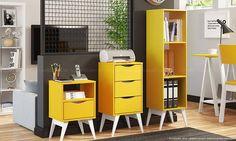 Conjunto Home Office para organizar os materiais de Escritório. Clique na imagem para saber mais.
