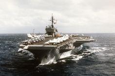 USS Constellation (CV-64) 1988