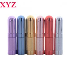 High Quality 6ML 6Colors Mini Empty Traveler Metal Spray Refillable Portable Perfume Atomizer Bottle&Empty Cosmetic Containers