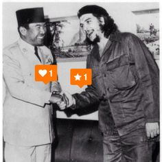 soekarno and che guevara