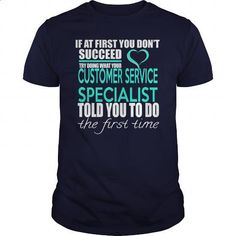 CUSTOMER SERVICE SPECIALIST - IF YOU #tee #hoodie. GET YOURS => https://www.sunfrog.com/LifeStyle/CUSTOMER-SERVICE-SPECIALIST--IF-YOU-Navy-Blue-Guys.html?id=60505