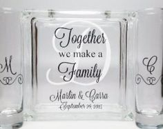 Blended Family Sand Ceremony Set - Unity Candle Alternative - Together We Make a Family - Beach Wedding Decor -Blended Family Wedding Theme Wedding Sand, Wedding Unity Candles, The Wedding Date, Wedding Ideas, Wedding Stuff, Wedding Vows, Wedding Themes, Spring Wedding, Wedding Colors