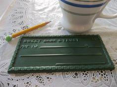 Handmade Soy Wax Tart Melt Blank Check by SpunkyMomEmporium, $4.25