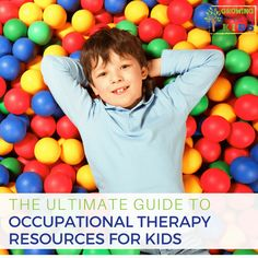 The ultimate guide to Occupational Therapy resources for kids. Perfect for teachers, parents, and therapists to use in the home, classroom, or therapy. Pediatric Occupational Therapy, Pediatric Ot, Sensory Activities, Craft Activities For Kids, Scissor Skills, Sensory Processing Disorder, Foster Care, Primary School, Early Childhood
