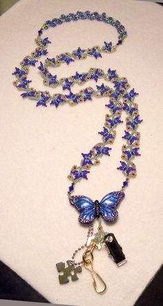 Flutterbies Beading Tutorial. $5,00, via Etsy.