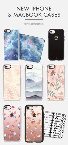 New iPhone Cases by Wonder Forest