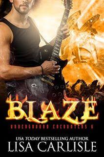 Book Reviewed: Blaze (a gargoyle shifter romance) (Underground Encounters Book 6)   My Rating: 5 Stars   Author: Lisa Carlisle   Publicat...