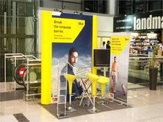 Portable Exhibition Stand for Idea. Know our range of Portable Stands http://www.expodisplayservice.ae/