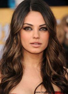 20 coole Bilder von Frisuren für braune Haare!   Hochsteck Frisuren