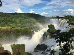 Went on holiday vacation with my family to: Iguazu Falls Brazil-Argentina. One of the widest falls in the world. [OC][3264x2448]