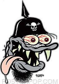 Mini Size Spike Fink Sticker Decal Art Eric Pigors Roth Like Funny Horror, Creepy Horror, Silent Horror Comics, Ed Roth Art, Hot Rod Tattoo, Rockabilly Art, Acid Rock, Monster Stickers, Horror Tale