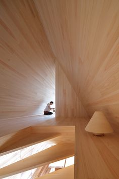 New Images of Completed Pavilions Released as HOUSE VISION Tokyo Opens to the Public,Yoshino-sugi Cedar House / Airbnb × Go Hasegawa. Image Courtesy of HOUSE VISION Tokyo