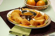 Receita de Bolo de laranja molhadinho. Descubra como cozinhar Bolo de laranja molhadinho de maneira prática e deliciosa com a Teleculinária!