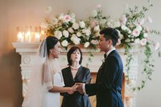Ceremony Inspiration. Florals by Celsia Floral  Alicia Keats Weddings  Melia Lucida Photography